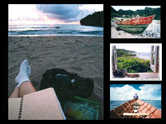 Remembering Batanes (imogen_ph) Tags: travel sea boat scans mosaic philippines nondigital batanes analogslr wowphilippines abigfave