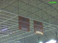 Back-to-Back Championship Banners