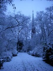 Winter-wonderland (katrin glaesmann) Tags: park schnee winter snow berlin germany deutschland blueish compactcamera moabit notedited nophotshop