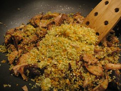 couscous and chicken (Dulamae) Tags: leftovers