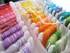 :: Rainbow Floss :: (Warm 'n Fuzzy) Tags: thread embroidery cotton anchor dmc perle floss ilasa