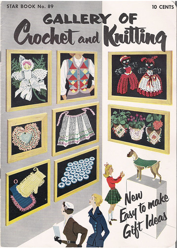 Gallery of Crochet and knitting Star Book No. 89
