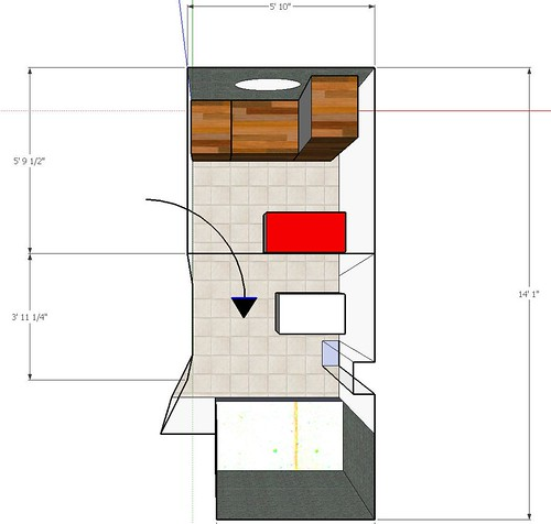 sketchup two room
