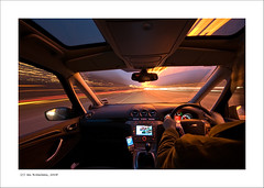 8 Seconds in Time. (Ian Bramham) Tags: england colour car night manchester photography photo nikon long exposure driving fineart explore northern d40 fordgalaxy ianbramham clart1909081350gmt welcomeuk