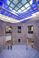 Pinacoteca Sao Paulo 08 (weyerdk) Tags: brazil texture architecture conversion saopaulo space masonry skylight modernism exhibition 1998 renovation brasileiro courtyards pinacoteca reuse restauration smoothness diaadia roughness paulomendesdarocha stateartmuseum