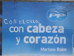 así lo hago (nadie en campaña) Tags: billboard rajoy valla politica nadie zapatero