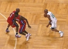 Ray Allen in action