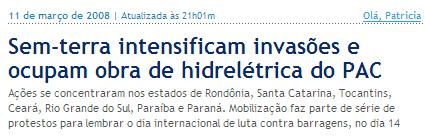 Globo Online 11mar08