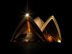 Sydney Opera House at Night (Greg Adams Photography) Tags: architecture night opera sydney australia landmark icon 2007 sydneyoperahouse supershot hhsc2000