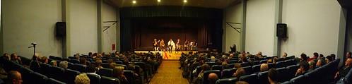 Panoràmica del Teatre Escènic de Campos