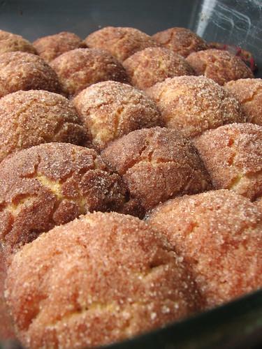 Cinnamon Doughnut Holes