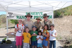Our troop with the Rangers