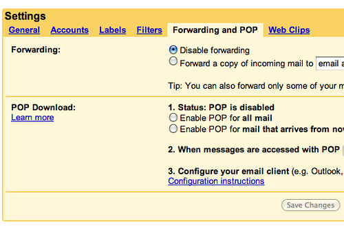 Gmail Drops IMAP?