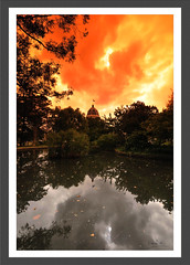 Carlton Gardens Framed (agtwo) Tags: world heritage site australia melbourne victoria tobacco graduated reb cokin