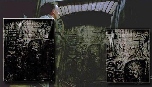 Ben's secret door.