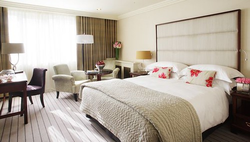 A Spacious Delux Bedroom at The Westbury Hotel