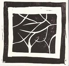 Linocut 1 - first print