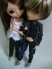 Couple* (camouflage 筱芸) Tags: sage pullip nina junplanning taeyang