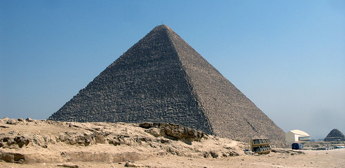 Hefren's pyramid