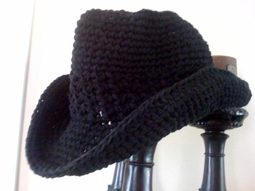 Вязанная ковбойская шляпа