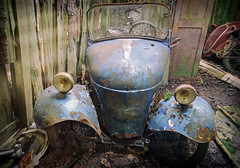 The blues (Martyn.Smith.) Tags: urbex decay abandoned car old timer decaying corrosion decayed derelict rust abandonment canon eos 700d flickr image photo corroded iron oxide classic cars abandonedcars