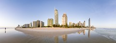 a different view of Surfers Paradise, Queensland, Australia (andrew.walker28) Tags: panorama surfers paradise gold coast queensland australia sand surf beach water ocean sea