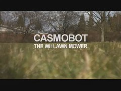 Casmobot - The Nintendo Wii Lawn Mower (sinsymonds) Tags: technology tech nintendo robots invention wii lawnmover robocluster casmobot