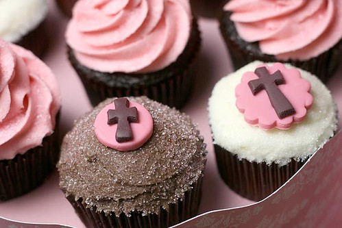 Communion Cupcak