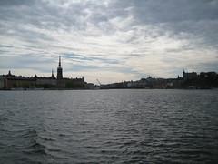 La vue du bateau