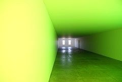 DSC07520 (hellothomas) Tags: light green texas fluorescent untitled marfa danflavin flavin chinati
