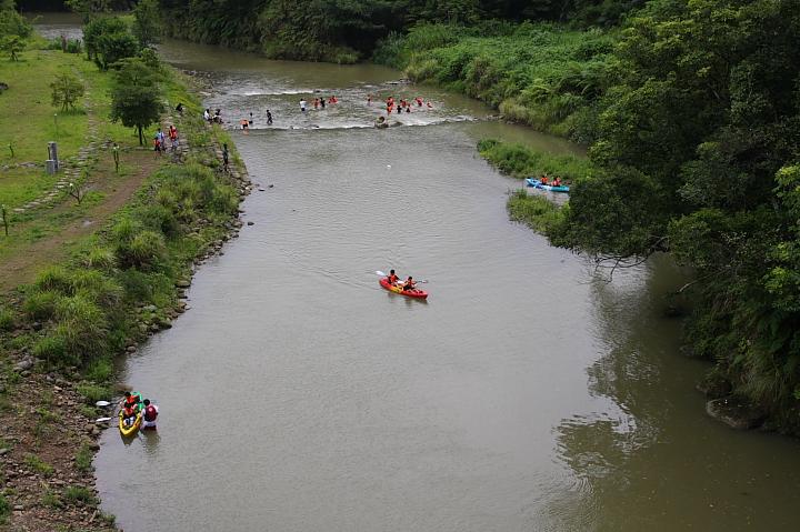 雙溪溯溪、騎單車、獨木舟016