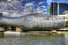 Webb Bridge (Wojtek Gurak) Tags: architecture australia melbourne webbbridge dcm dentoncorkermarshall
