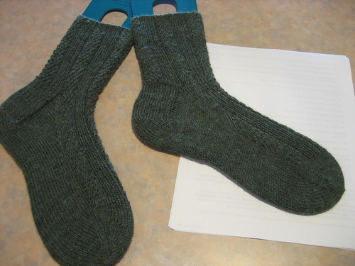 March/April sock