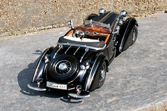 Horch 855 roadster 1939 #2 (Smallmind) Tags: car vintage miniature model automobile 118 horch diecast sunstar