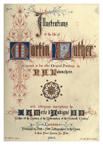 000-Portada del libro-Illustrations of the life of Martin Luther 1862- Pierre Antoine Labouchère