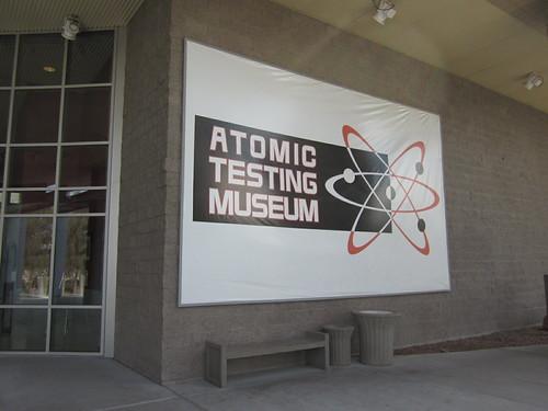 Atomic Testing Museum sign