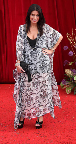 Alison King at the British Soap Awards 19.05.11