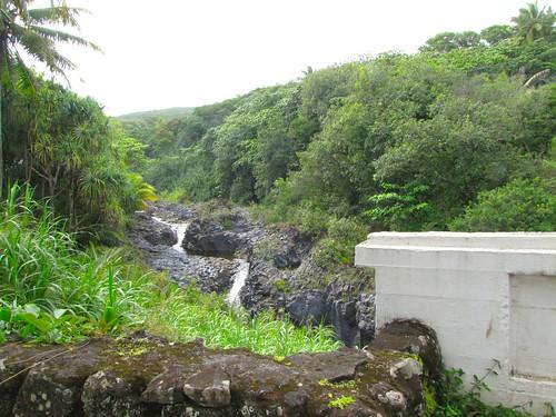zigzag waterfall