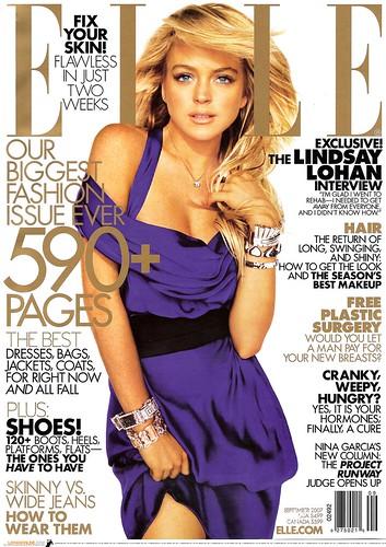 Sexy Cover Girl : Lindsay Lohan