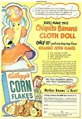 chiquita cloth doll