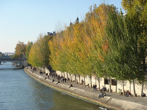 Autumn on the Seine, Paris -  Oct. 20, 2007