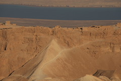 A_M_0013 (A   M) Tags: sea west dead israel desert side authority parks unesco national isreal  masada judea       legiox              romancatapultmachine