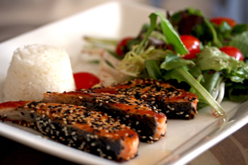 Black & White Salmon