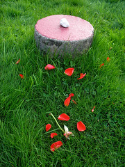 Sanctuary (avtost) Tags: red temple petals petal complex sanctuary avebury theaveburytemplecomplex