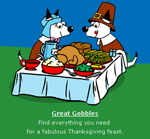 Dogpile Thanksgiving Logo 2007