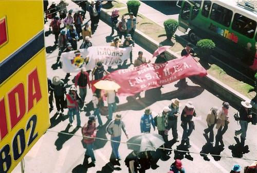 Sucre y las protestas de la CPE