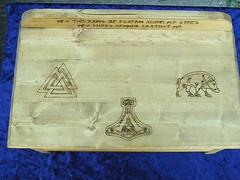 Asatru Altar (dragonoak) Tags: wood altar nordic odin thor viking frey heathen asatru heathenism