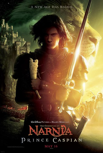 Poster Las crónicas de Narnia El Príncipe Caspian Chronicles of narnia prince caspian