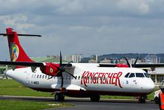 ATR 72-212A n° 750 ~ F-WWEK / VT-KAI  Kingfisher (Aero.passion DBC-1) Tags: dbc1 aviation avion air aircraft meeting salon du bourget paris show 2007 atr72 aeropassion atr 72 ~ fwwek vtkai kingfisher