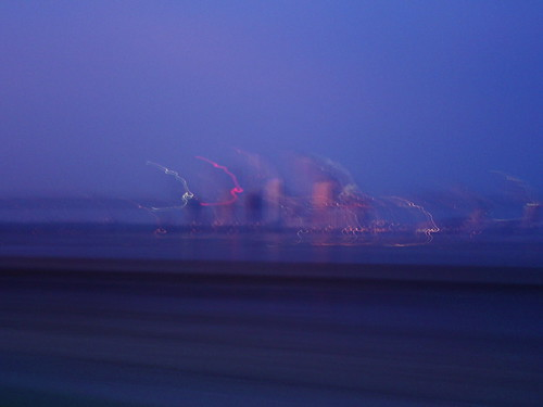 Tampa Skyline @ 200 km/h by bry1976. Tampa, FL Skyline from Bayshore Drive
